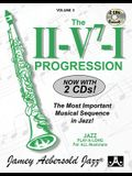 Jamey Aebersold Jazz -- The II/V7/I Progression, Vol 3: The Most Important Musical Sequence in Jazz!, Book & 2 CDs [With CD (Audio)]