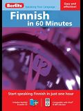 Finnish in 60 Minutes [With Booklet]