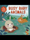 Busy Baby Animals: Spin the Wheel to Learn about Baby Animals!