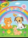 Crayola Baby Animals: A Coloring & Activity Book, Volume 10