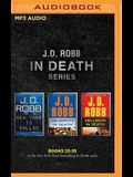 J. D. Robb: In Death Series, Books 33-35: New York to Dallas, Celebrity in Death, Delusion in Death