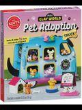 Mini Clay World Pet Adoption Truck: Make & Bake 15 Clay Animals & Display!