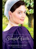A Simple Faith (Lancaster Crossroads)