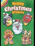 Happy Christmas Stickers
