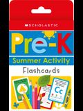 Pre-K Summer Activity Flashcards: Scholastic Early Learners (Flashcards)