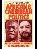 African and Caribbean Politics