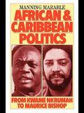 African and Caribbean Politics