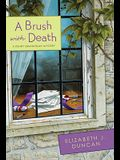 A Brush with Death: A Penny Brannigan Mystery