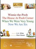 Winnie-The-Pooh Boxed Set: Winnie-The-Pooh; The House at Pooh Corner; When We Were Very Young; Now We Are Six