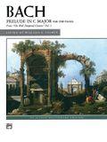 Prelude in C Major: Sheet