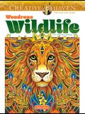 Creative Haven Wondrous Wildlife Coloring Book
