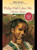 Philip Hall Likes Me, I Reckon Maybe