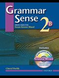 Grammar Sense 2: Student Book 2B with Wizard CD-ROM