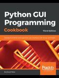 Python GUI Programming Cookbook.