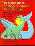 Dinosaur Is the Biggest an PB