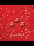 Christmas Party Guest Book (HARDCOVER), Party Guest Book, Birthday Guest Comments Book, House Guest Book, Seasonal Party Guest Book, Special Events &