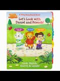 Let's Look with Daniel and Friends!: A Very Busy Board Book!