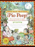 Pio Peep! Traditional Spanish Nursery Rhymes Book and CD: Bilingual Spanish-English [With CD (Audio)]