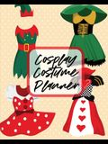 Cosplay Costume Planner: Performance Art - Character Play - Portmanteau - Fashion Props