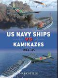 US Navy Ships Vs Kamikazes 1944-45
