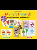 My First Words Matching Game and Book Set: Three Games and a Book