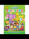 Math Stickers Workbook