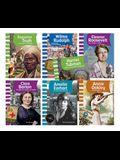 American Biographies: Women Spanish Goreader Audio Set