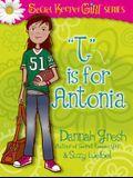 T is for AnTONIa (Secret Keeper Girl Fiction)