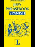 Jiffy Phrasebook Spanish (Langenscheidt Phrasebooks)