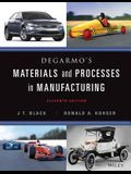 DeGarmo's Materials and Processes in Manufacturing [With Access Code]