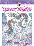 Creative Haven Unicorn Wonders Coloring Book