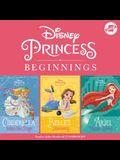 Disney Princess Beginnings: Cinderella, Belle & Ariel: Cinderella Takes the Stage, Belle's Discovery, Ariel Makes Waves