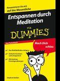 Entspannen Durch Meditation F?r Dummies Das Pocketbuch