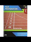Steck-Vaughn Core Skills Test Preparation: Workbook Grade 1