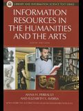 Information Resources in the Humanities and the Arts