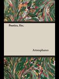Poetics, Etc.
