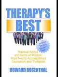 Therapy's Best: Practical Advice and Gems of Wisdom from Twenty Accomplished Counselors and Therapists