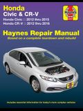 Honda Civic (12-15) & Cr-V (12-16): Does Not Include Information Specific to Cng or Hybrid Models