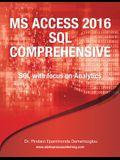 MS Access 2016 SQL Comprehensive
