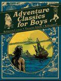 Adventure Classics for Boys Robinson Crusoe, Treasure Island and Kidnapped