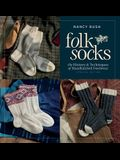 Folk Socks: The History & Techniques of Handknitted Footwear