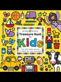Treasure Hunt: Treasure Hunt for Kids: Over 500 Hidden Pictures to Search For, Sort, and Count