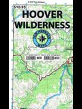 Hoover Wilderness Trail Map: Shaded-Relief Topo Map