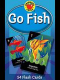 Go Fish Card Game: 54 Flash Cards