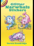 Glitter Narwhals Stickers