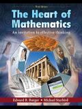 The Heart of Mathematics: An Invitation to Effective Thinking [With 3-D Glasses]