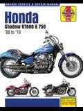 Honda Shadow Vt600 & 750 - '88 to '19: - Model History - Pre-Ride Checks - Wiring Diagrams - Tools and Workshop Tips
