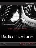 Radio Userland Kick Start