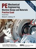 Ppi Pe Mechanical Engineering Machine Design and Materials Practice Exam, 2nd Edition - A Comprehensive Practice Exam for the Ncees Pe Mechanical Mach