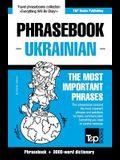English-Ukrainian phrasebook and 3000-word topical vocabulary